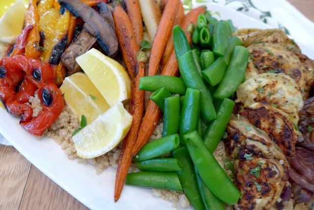 Easy Roasted Summer Vegetables