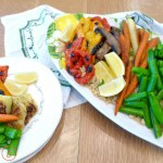 Easy Roasted Summer Vegetables at diginwithdana.com