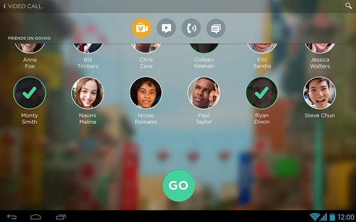 ooVoo video call app Android