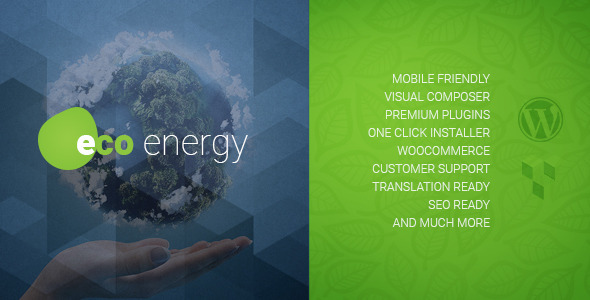 ecoenergy - environment themes