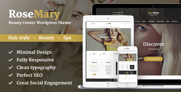 rosemary - beauty spa themes