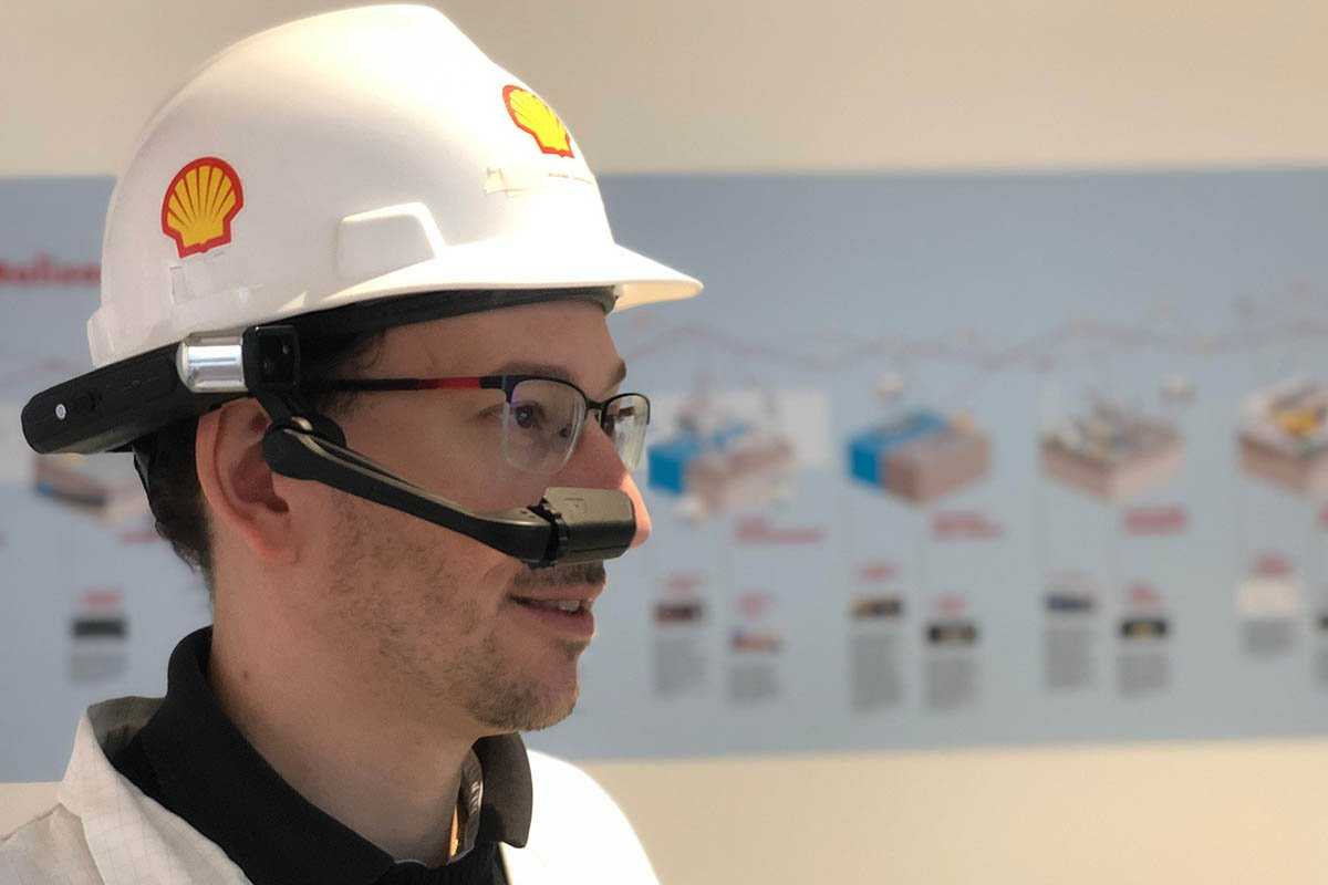 Shell Revamps Remote Operations with Augmented Reality Helmet