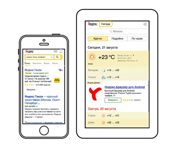 YANDEX השיקה כלי פרסום למפתחי אפליקציות