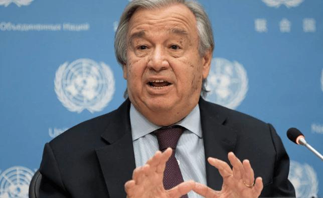 "UN Chief ""Deeply Upset"" By Israel Strike On Gaza Media Building"