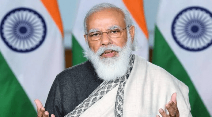 Modi Joins BJP-RSS Get Closed Over Covid Impact On UP Polls: Report Says