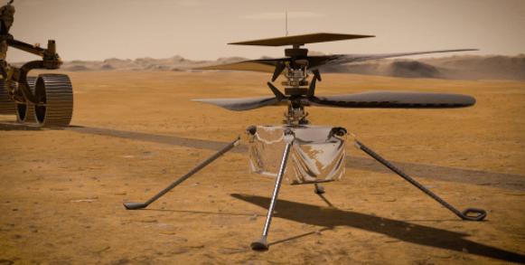 NASA Mars Helicopter Inventiveness Due to Navigation Error