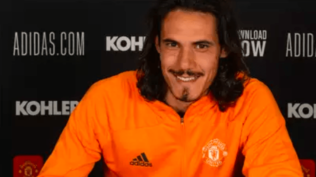 Edinson Cavani extends Man United stay with one-year deal