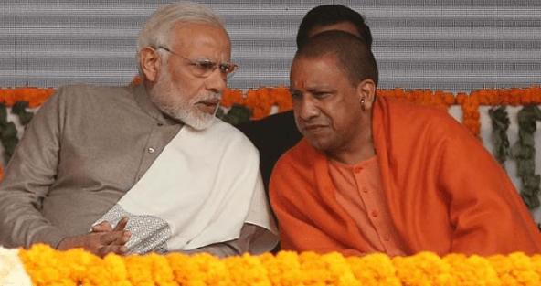 Yogi Adityanath Visits Amit Shah To Meet Modi