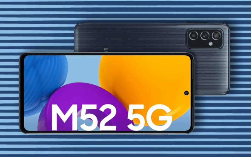 Samsung Galaxy M52 5G Launched in India