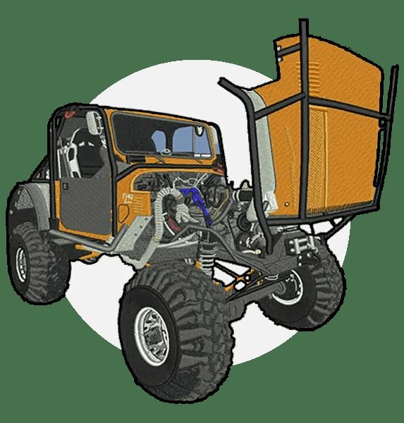 Truck-emb-digit-it