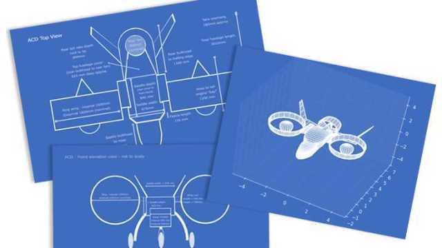 Sky Hopper UAV Blueprints