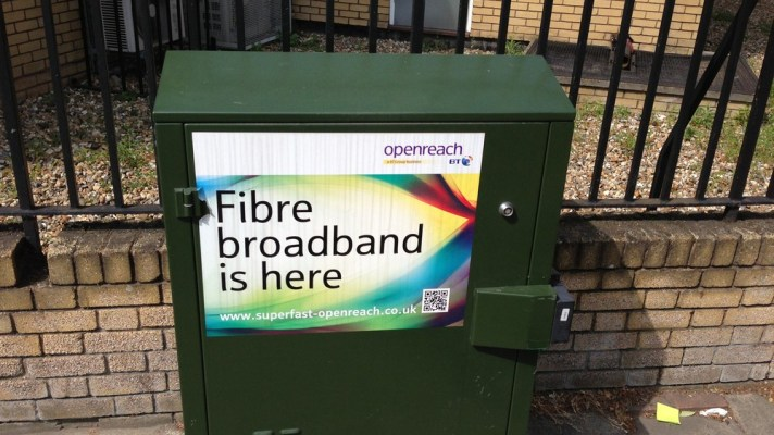 BT Openreach Cabinet poor digital infrastructure
