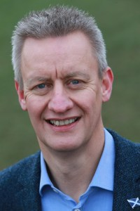 Russell Dalgleish of SBN, co-organiser of Scottish International Week