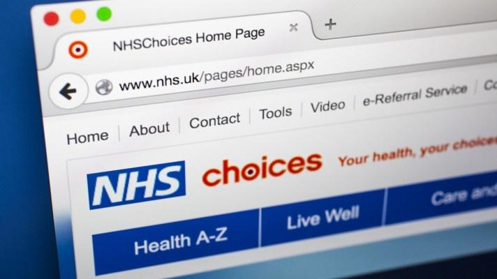 NHS Website logo