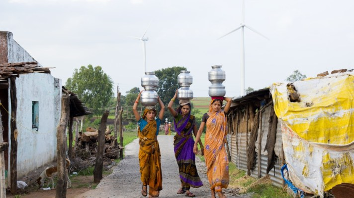Robotic Research: Indian Women Carrying Water