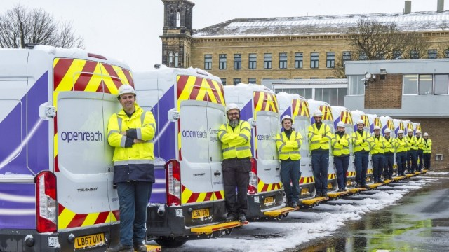 Openreach Engineers Scotland