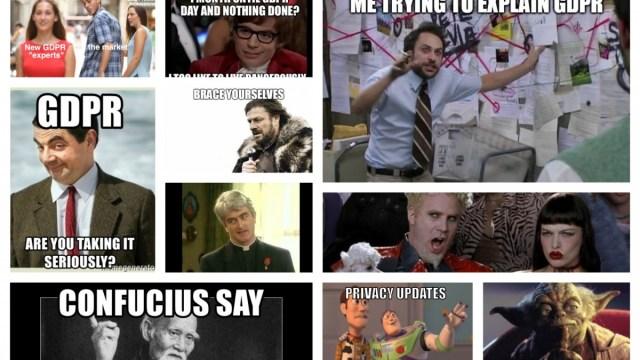 DIGIT's Top 20 GDPR Memes