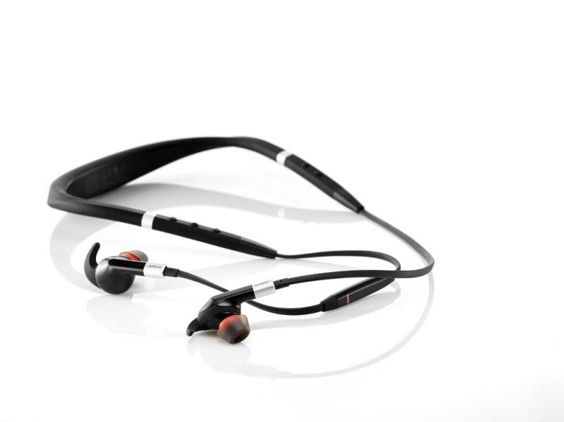 Jabra e75 Headphones on table
