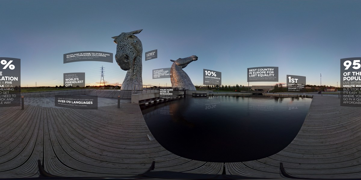 Whitespace Portal Kelpies