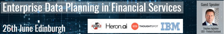 Enterprise Data Planning in Financial Services event