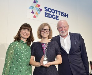 Evelyn MacDonald, Martina Zupan, Sir Tom Hunter - Scottish EDGE Round 12 Winners