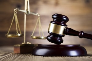 Cybercrime and Fraud Court. CityFibre fake fibre justice scales and gavel