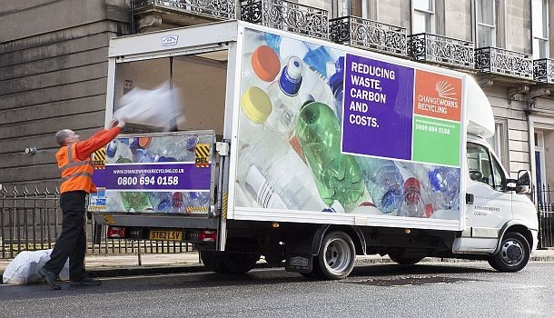 changeworks recycling lorry