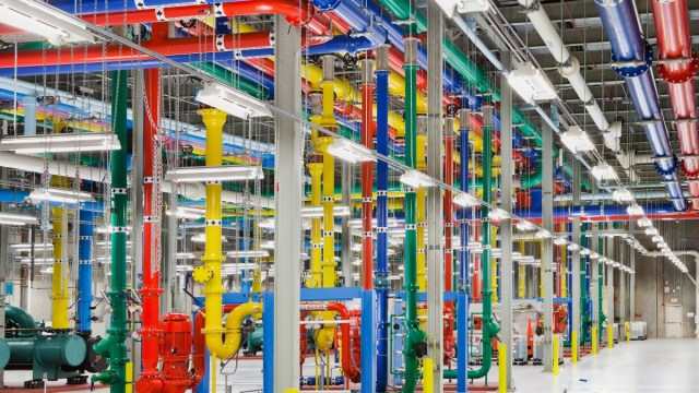 DeepMind controls the data centre cooling system.
