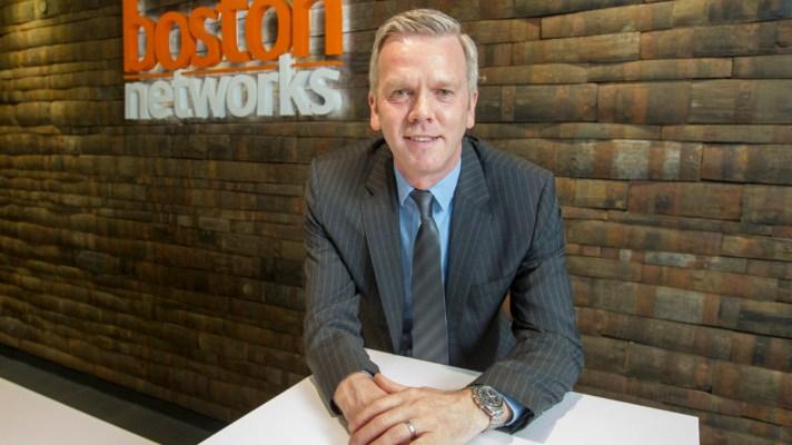 Scott McEwan, CEO of Boston Networks