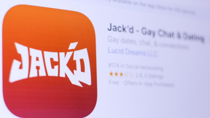 Jack'd gay dating app