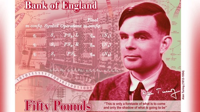 Alan Turing Bank Note