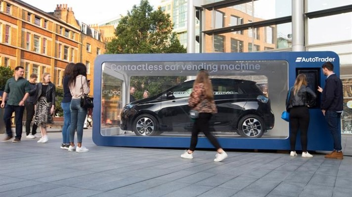 Auto Trader car vending machine