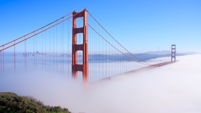 San Francisco Bay north of the Bay Bridge
