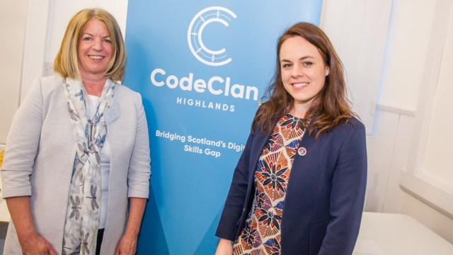 CodeClan Kate Forbes and Sarah Dodd