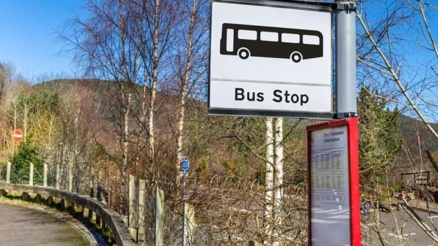 Scottish bus stop