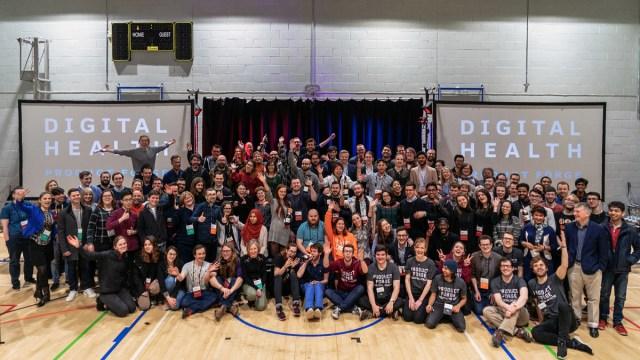 Digital Healthcare Hackathon group photo