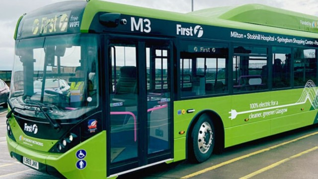 First Glasgow Electric Buses