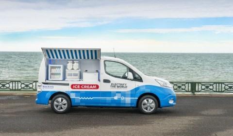 Nissan Electric Ice Cream Van