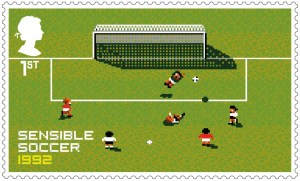 Video Games Sensible Soccer 1992 stamp