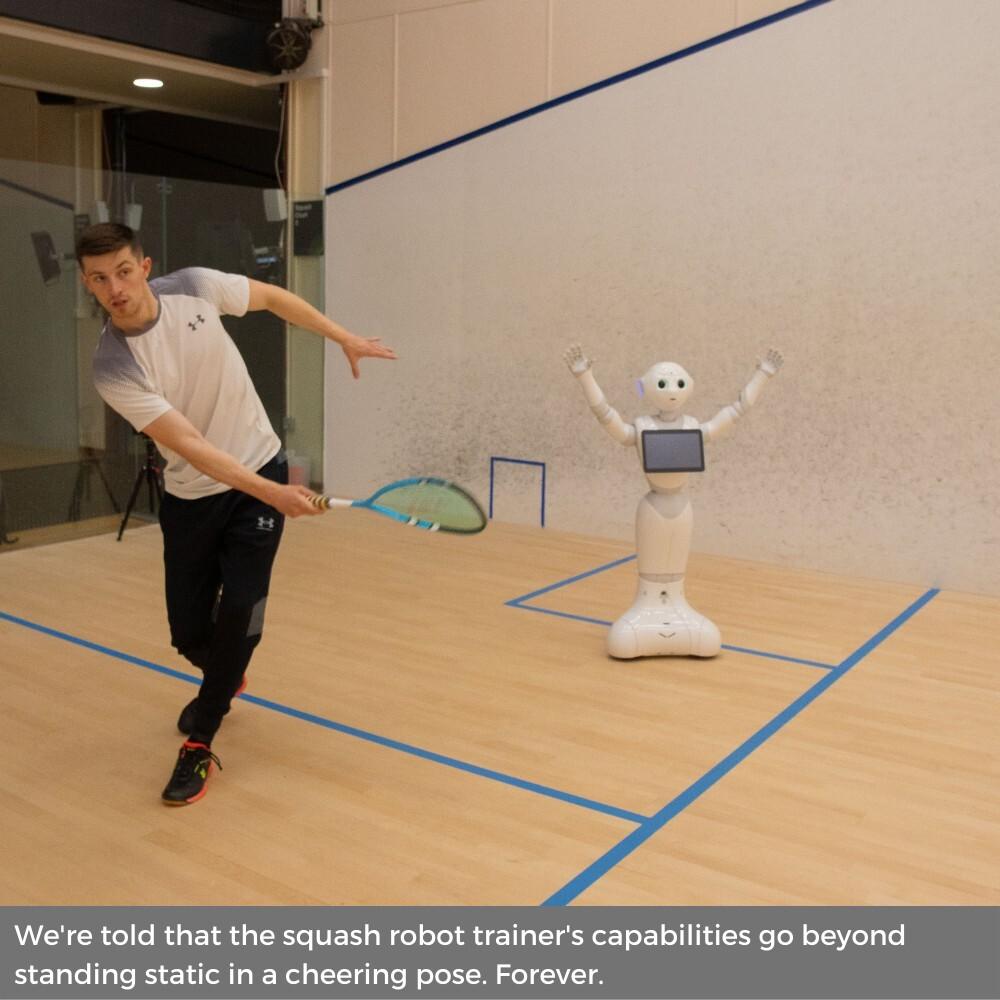 Robotic Squash Coach