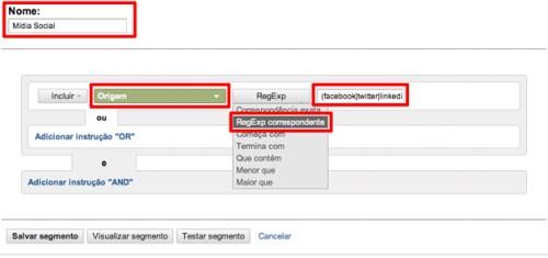 Google Analytics Redes Sociais