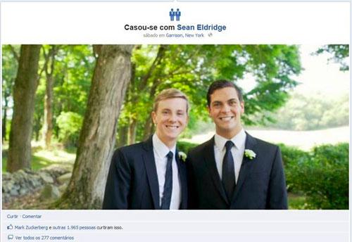 Icone de Casamento do Mesmo Sexo no Facebook