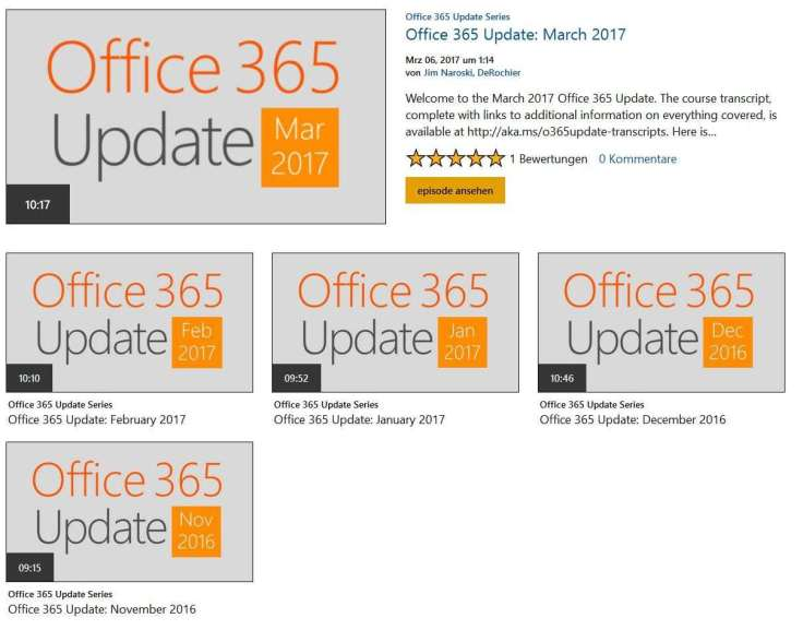 Microsoft Office 365 Updates Webinar