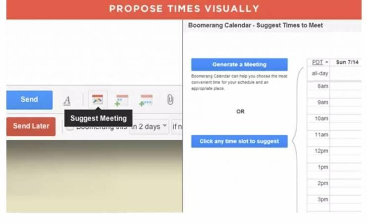 Gérer la prise de vos rendez-vous avec Boomerang calendar