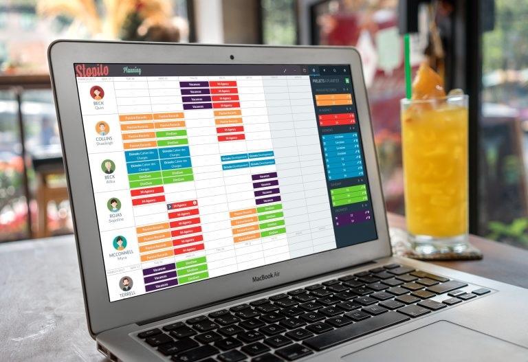 Planning Stopilo : Interface