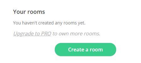 créez votre room
