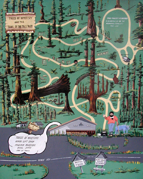 Image result for trees of mystery map