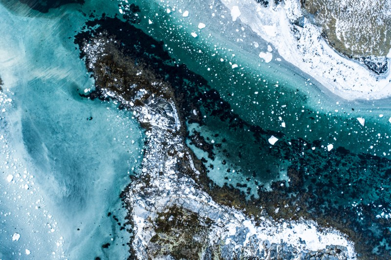 Areal Arctic Photography over Vesterålen, Norway | Marc Ihle; Institute of Experimental Architecture at the University of Innsbruck. Februar 2018