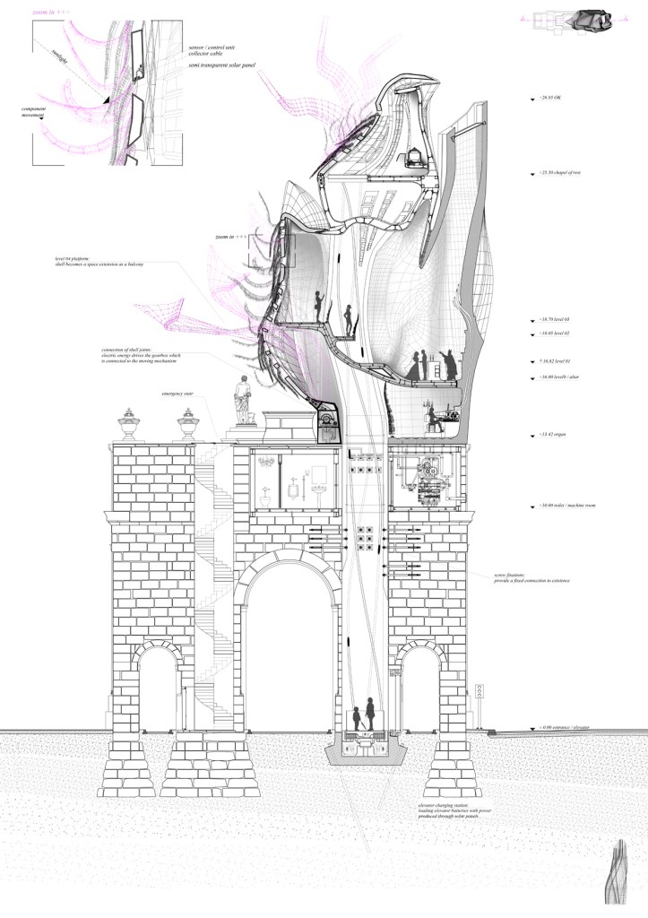 Student Project: Florian Bauer and David Huber | More than Décor | Tutors: Galo Moncayo-Asan, Peter Massin and Marc Ihle | Institute of Experimental Architecture.Hochbau | Prof. Marjan Colletti | University of Innsbruck | 2014 / 2015