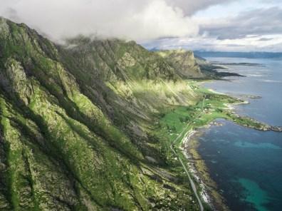 """GREEN HILLS"" | Hadsel Island Vesteralen | Foto: Marc Ihle | 2018"